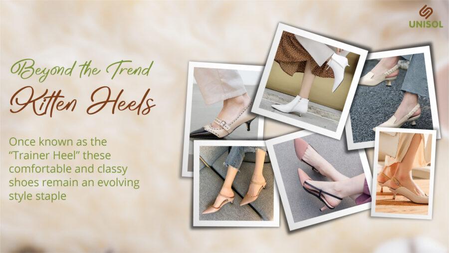Beyond the Trend: Kitten Heels