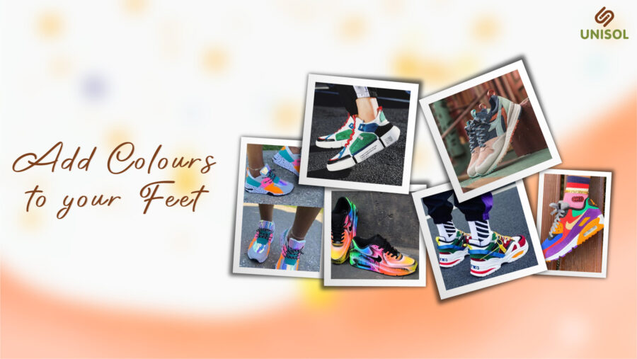Add Colours To Your Feet